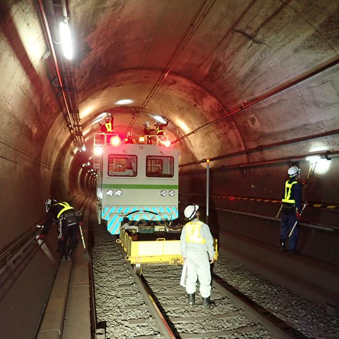 新宿線トンネル特別全般調査業務