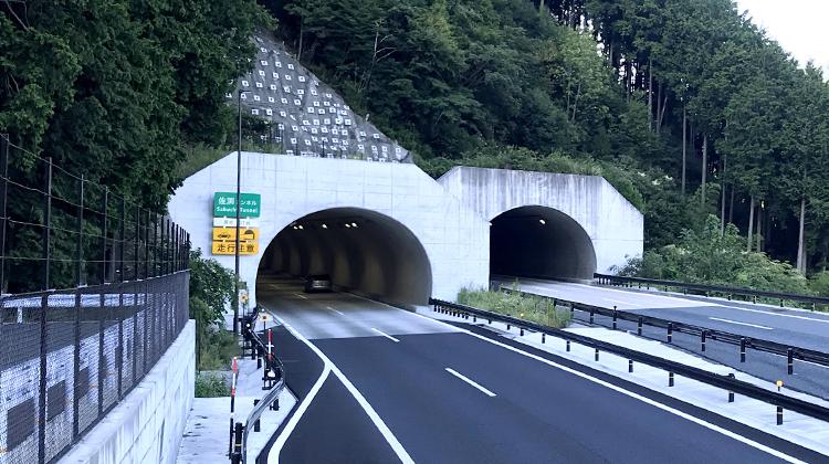 鳥取自動車道 佐渕トンネル(Ⅱ期線)詳細設計
