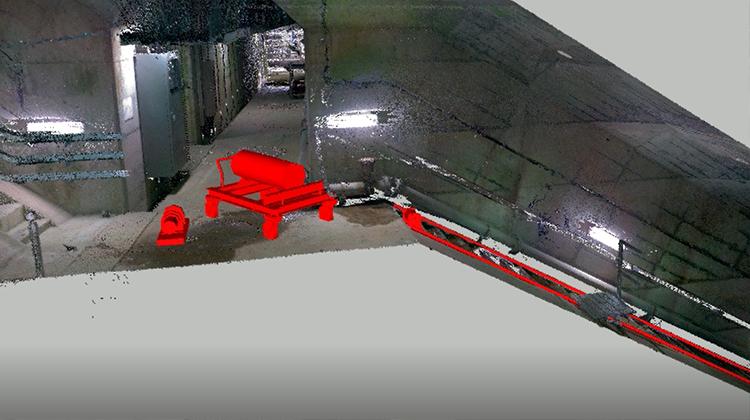 ダムの機械設備におけるCIMの活用