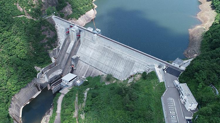 笠堀ダム「嵩上げ」による既設ダムの再開発