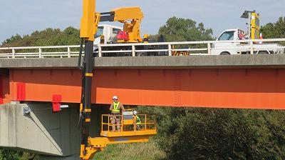 茨城県における橋梁定期点検 3巡目となる定期点検と現場における職員研修の実施