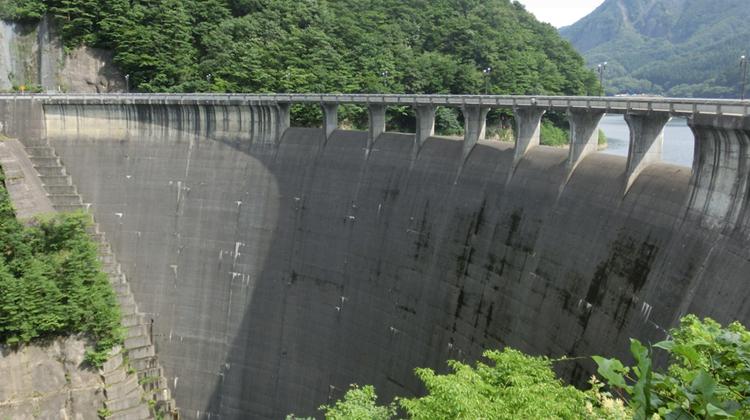 鳴子ダム堤体コンクリートAI点検プロジェクト