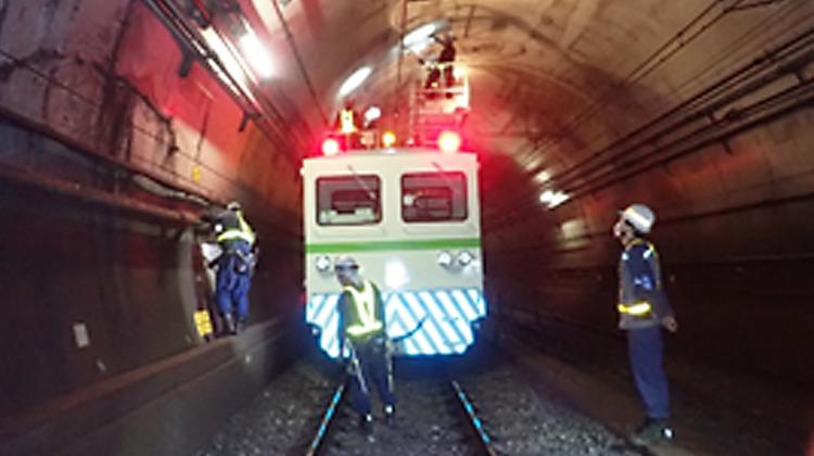 20年に一度の特別な検査 都営地下鉄新宿線・ 特別全般検査