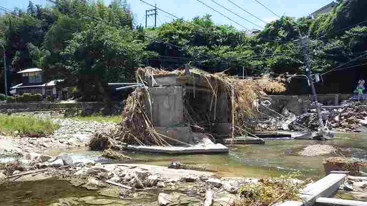 経験のない大雨を記録 『平成30年7月豪雨』からの 復旧を