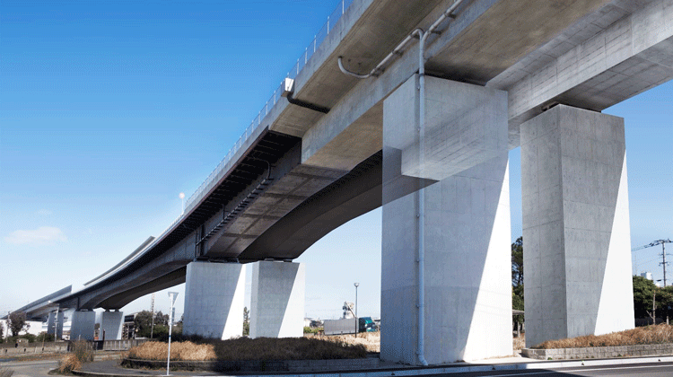 国内最大級の支間を有する鋼・コンクリート混合橋の耐風設計プロジェクト