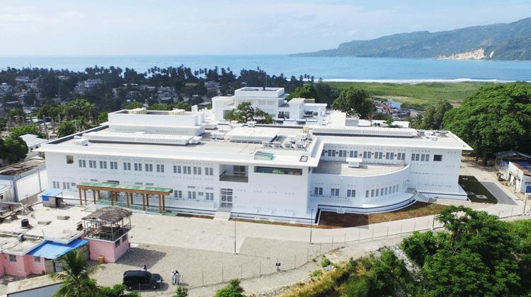 ハイチ共和国南東県「ジャクメル病院」整備(施設建設、機材整備)計画