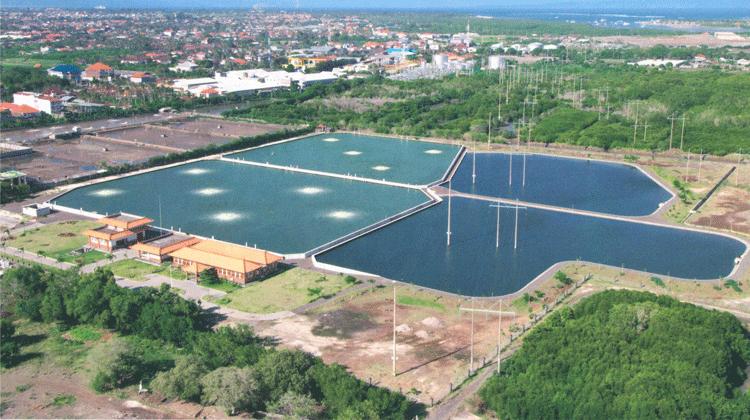 世界的な観光地バリ島での下水道整備プロジェクト(DSDPII)
