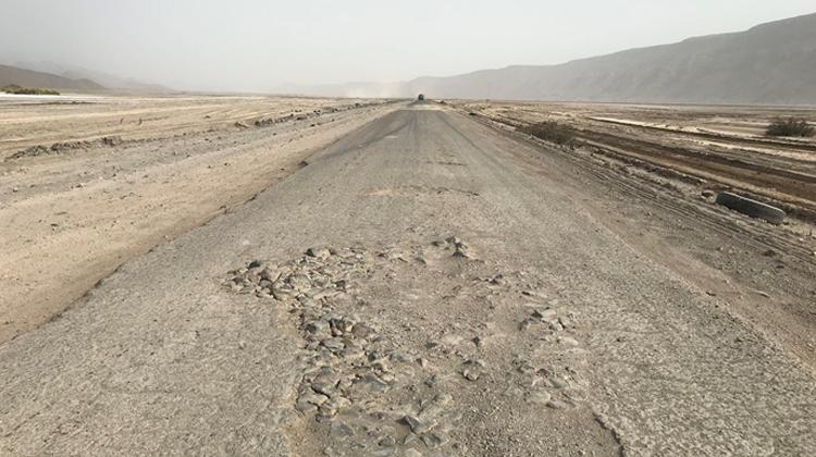 ジブチ国道一号改修計画・道路維持管理機材整備計画
